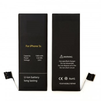 iPhone 5S, 5C 1560mAh Replacement Battery