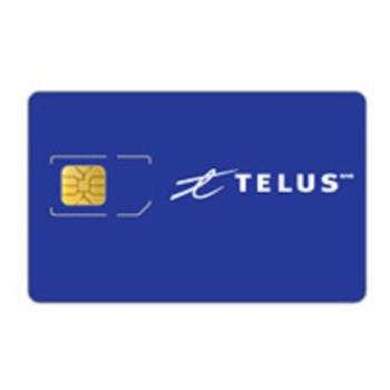Telus Full Size SIM Card