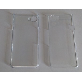 Blackberry Keyone - Transparent Hard Plastic Case Clear