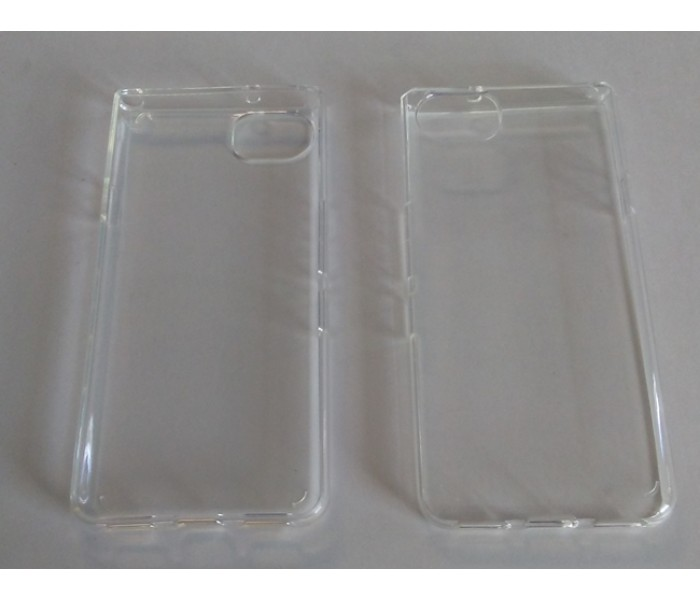 Blackberry Keyone - Transparent Soft TPU Case