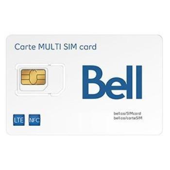 Bell LTE Multi SIM Card