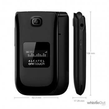 Alcatel OneTouch A392A Flip Phone A/B Stock Unlocked rogers fido bell virgin freedom telus koodo chatr