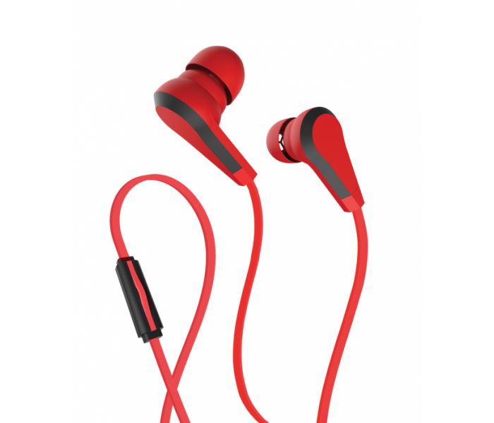 Allure 3.5mm Stereo Earbud Red