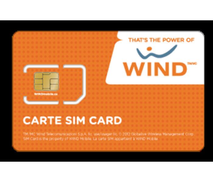 Wind Full Size SIM Card